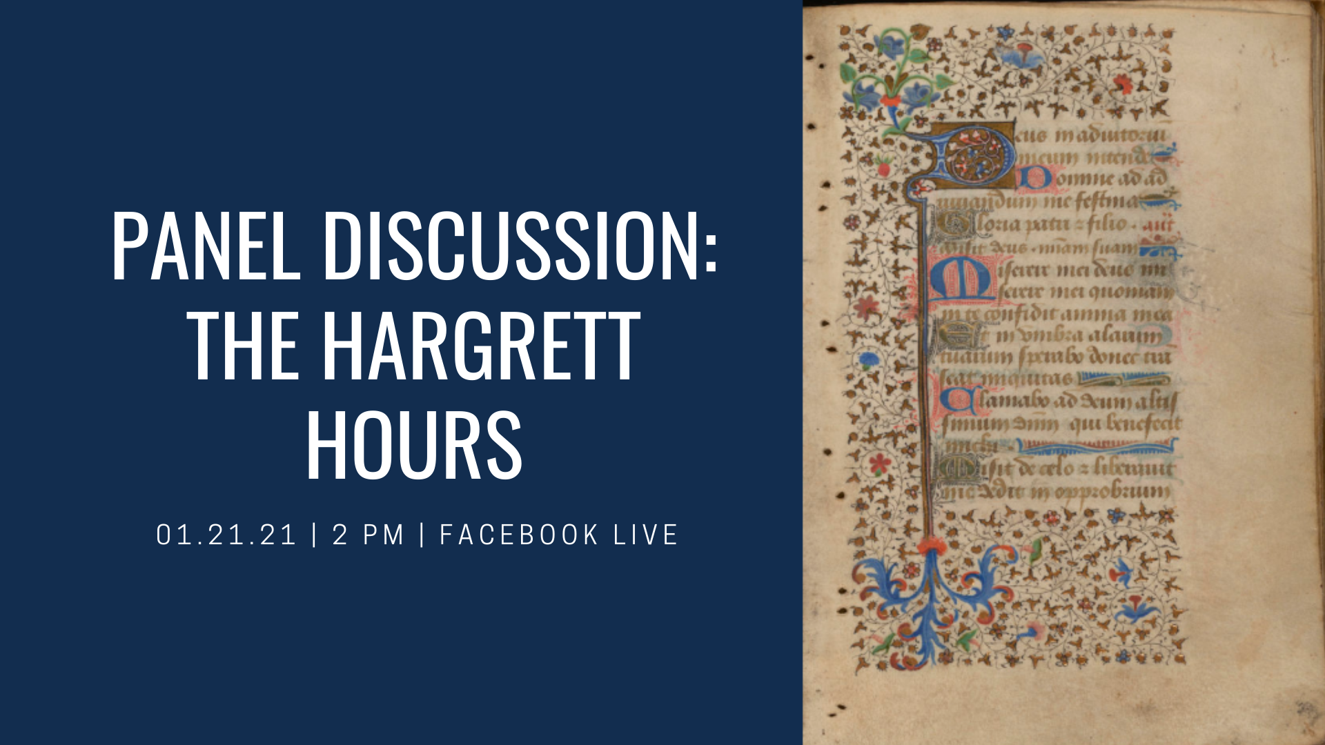 Panel Discussion: The Hargrett Hours